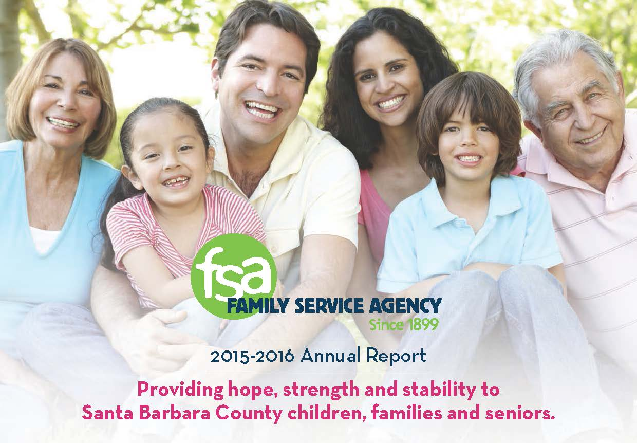 2014-2015 Family Service Agency Annual Report