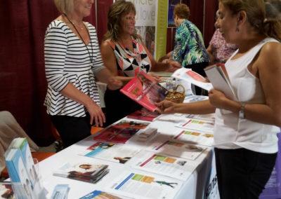 Senior Expo 2015 table at Family Service Agency 3
