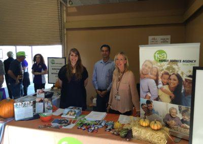 Senior Expo 2015 team at Family Service Agency 2
