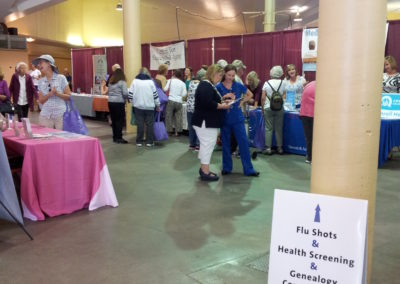 Senior Expo 2015 vendors at Family Service Agency 4