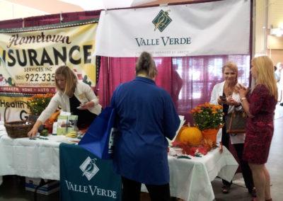 Senior Expo 2015 vendors at Family Service Agency
