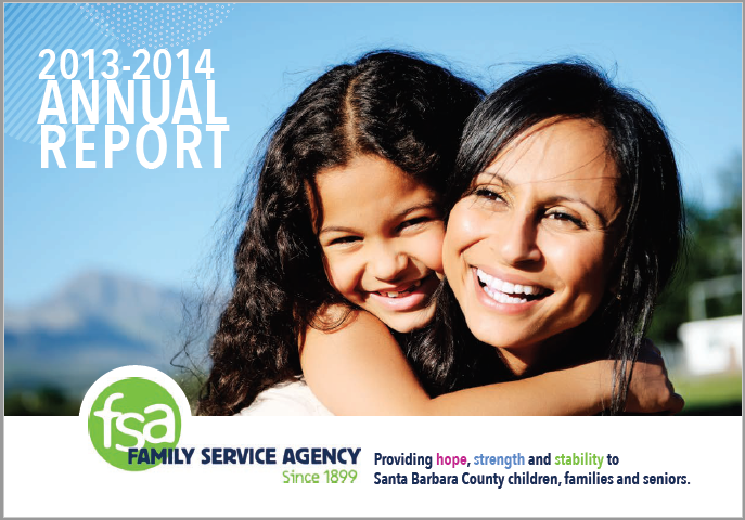 2013-2014 Family Service Agency Annual Report