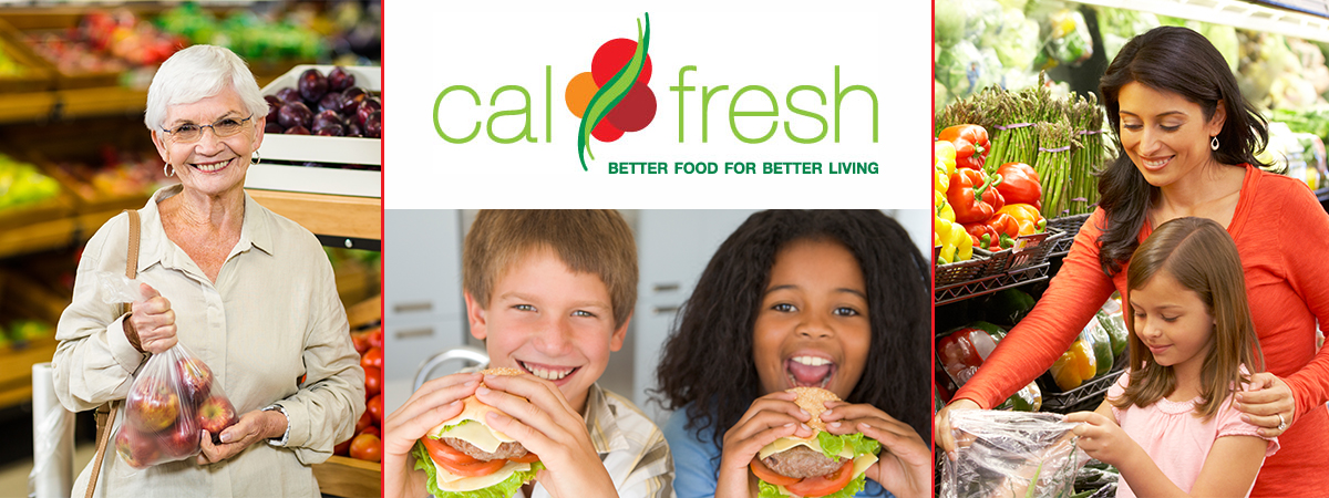CalFresh is a program funded by the USDA to help improve health and nutrition of families with low incomes.