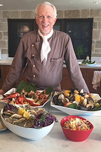Michael Hutchings, MIchael's Catering