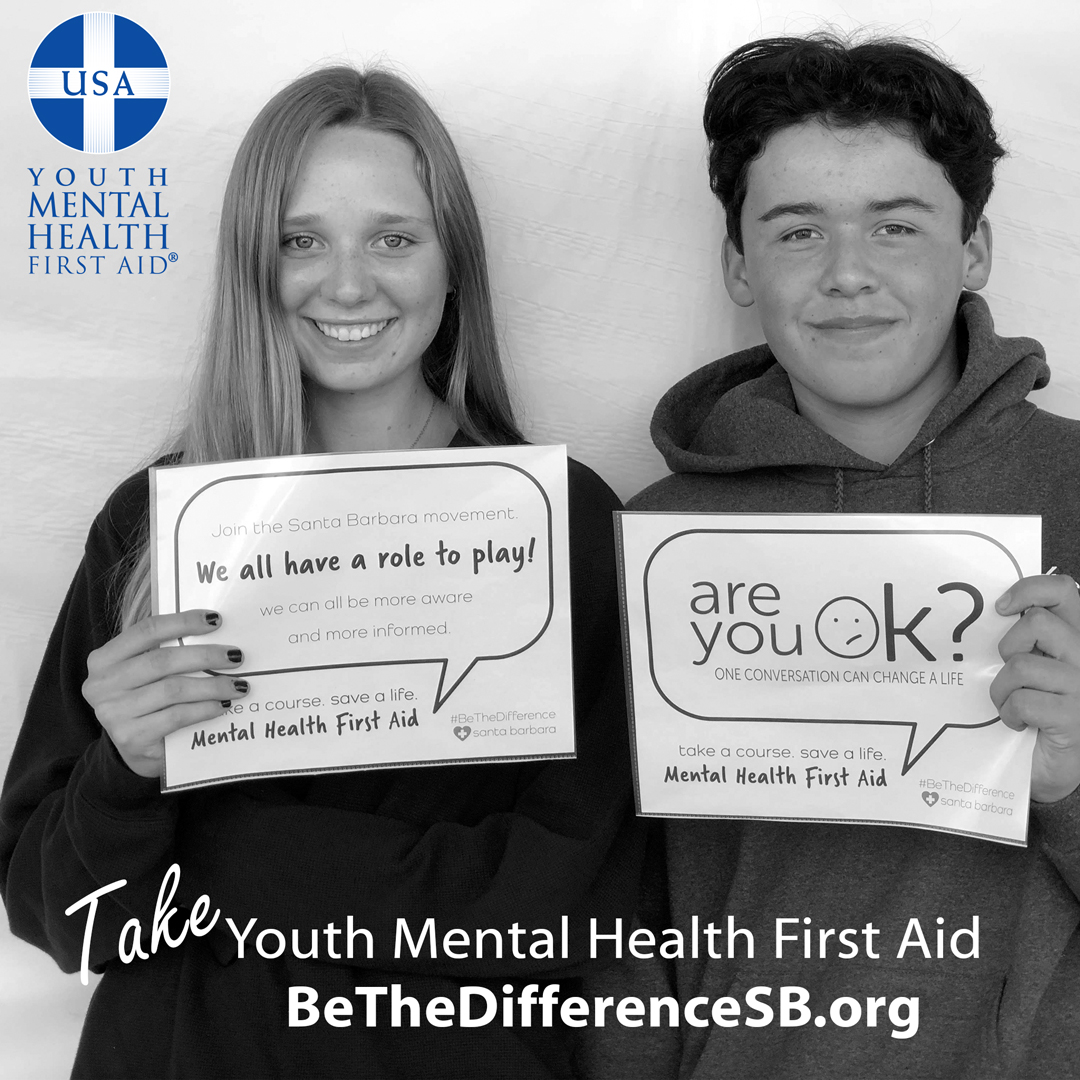 Take Youth Mental Health First Aid