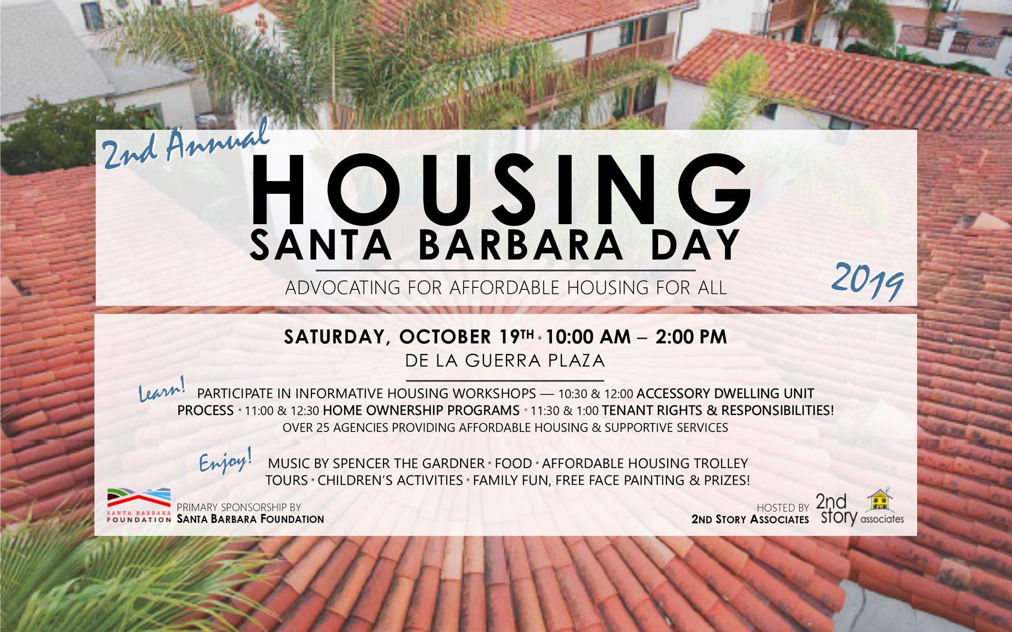 Housing Santa Barbara Day