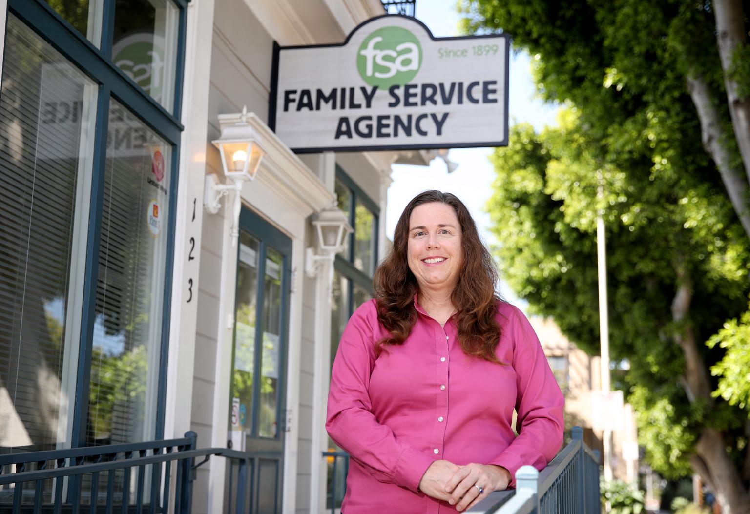 Carol Morgan from Family Service Agency