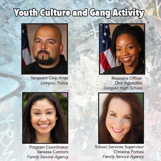 Youth Culture and Gang Activity Workshop