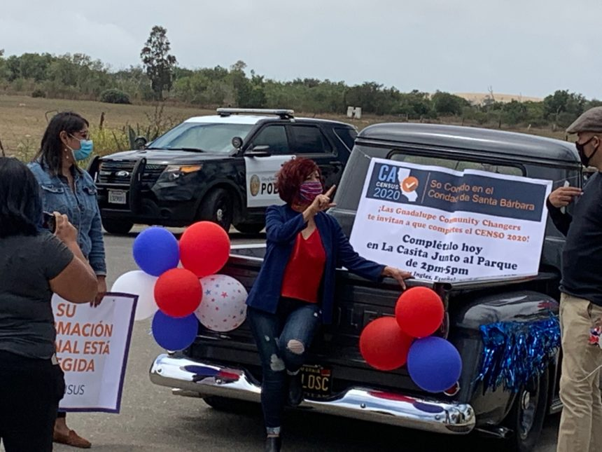 2020 Census Car Caravan makes its way through Guadalupe